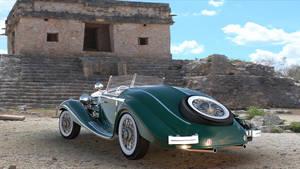Mercedes540rearview V002