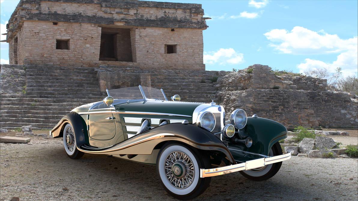 Mercedes5403 4view V002 by bacarlitos