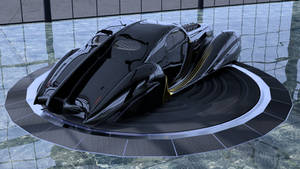 Le Torrent Noir rear view