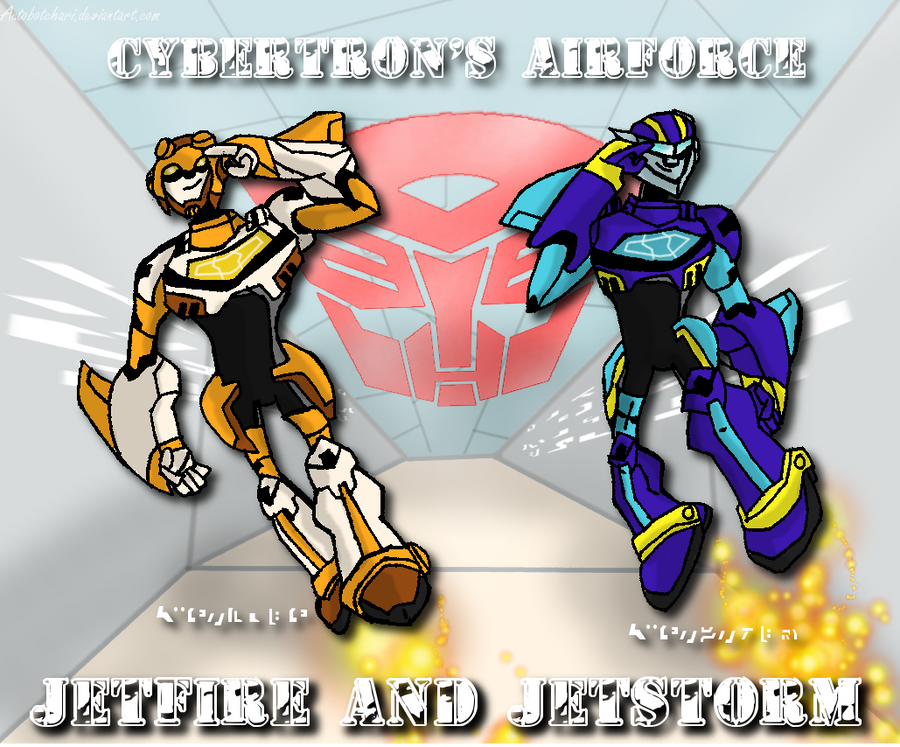 Autobot Airforce by autobotchari