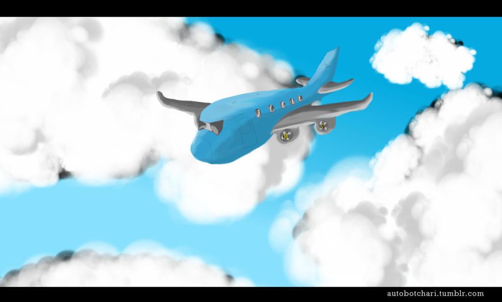 chibi 747 Speepaint1 by autobotchari