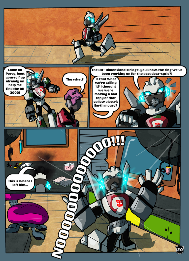The Universal Greeting Page 20 By Autobotchari On Deviantart
