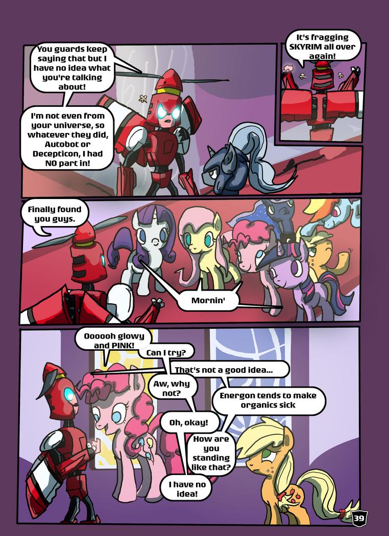 The Universal Greeting Page: 39 by autobotchari
