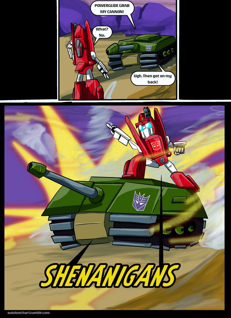 Shenanigans by autobotchari