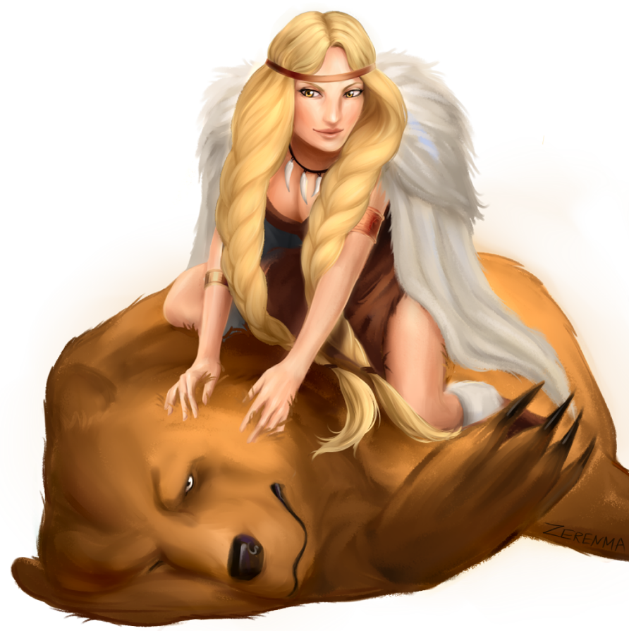 The Bear and the Maiden Fair by Zerenma