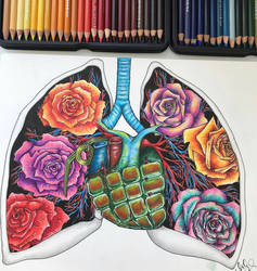 My kind of lungs by MariaXXArt