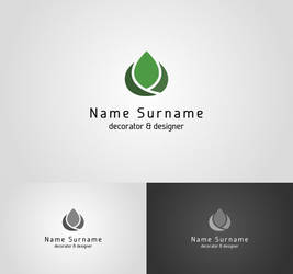 decorator and designer logo I