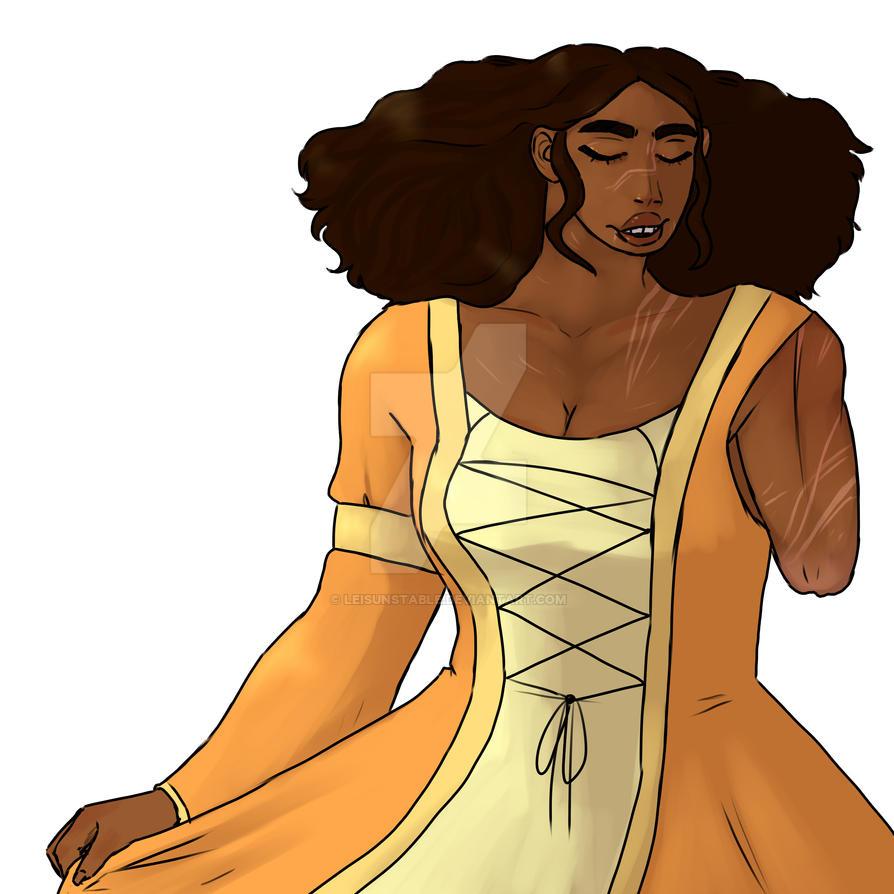 Wayne Marigold Princess Image: LeIsUnstable (Le)
