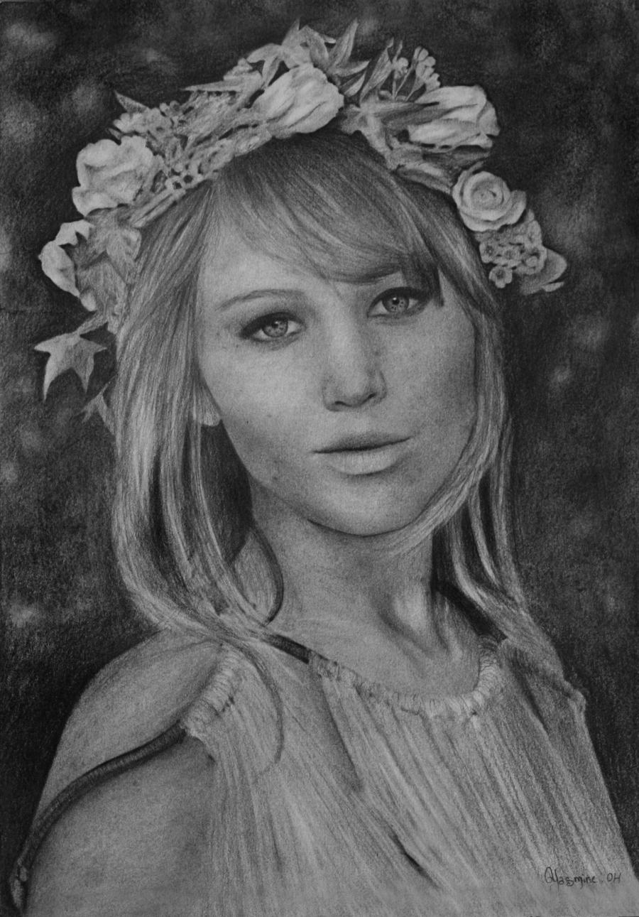 Jennifer Lawrence by yassou31