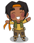 Chibi Hunk by shadouge4eternity