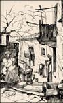 SEVASTOPOL. 35 SUVOROV STREET (PLEIN-AIR SKETCH)