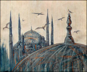 FLY, BIRDS! TELL ME ABOUT ISTANBUL by Badusev