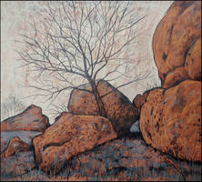 THE SACRED ROCKS OF KIRK-AZIZ by Badusev