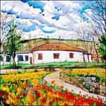ON AN APRIL DAY IN VORONTSOV PARK