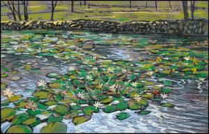 WATER LILIES by Badusev