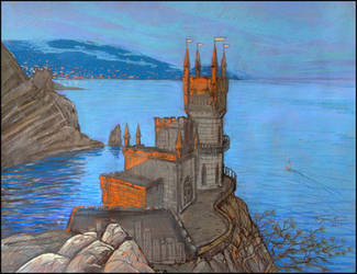 THE SWALLOW'S NEST by Badusev
