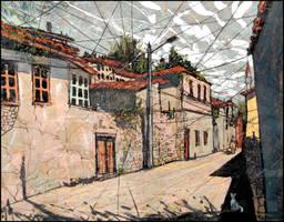 BAKHCHYSARAI STREETS by Badusev