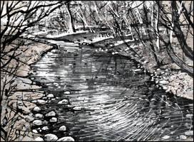 AYAN DERE. ST. JOHN'S RIVER by Badusev