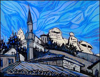 BAKHCHYSARAI: 50 SHADES OF BLUE by Badusev