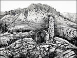 FOUNA FORTRESS AT THE FOOT OF DEMIRJI