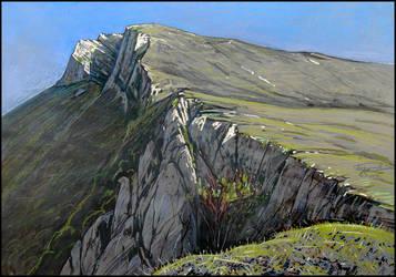UP. TOWARD ANGAR-BURUN by Badusev