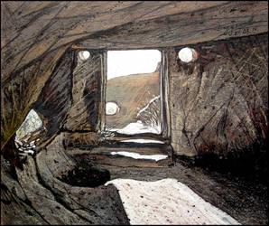 THE LIVING ROCKS OF TEPE-KERMEN by Badusev