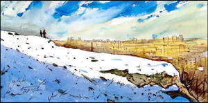 UPON THE SNOW-COVERED SCYTHIAN NEAPOLIS by Badusev