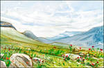 THE SPRINGTIME WIND OF THE CRIMEAN MOUNTAINS