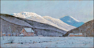 A SNOWY EVENING IN PEREVALNOYE