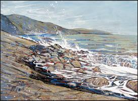 APRIL BEACH (EN-PLEIN-AIR SKETCH)
