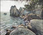 CHEKHOV BAY ROCKS
