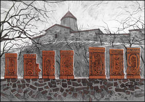 SURB-KHACH. THE HOLY CROSS by Badusev