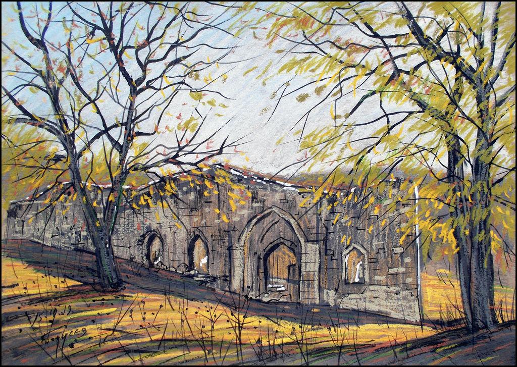 AN OLD CHURCH IN THE VILLAGE OF BOGATOYE