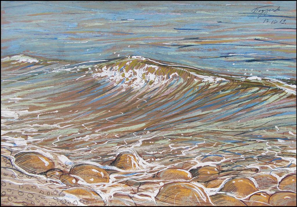 NEW WAVE (EN-PLEIN-AIR SKETCH)