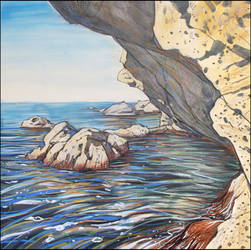 THE ROCKS OF KARANTINNAYA BAY