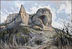 THE WESTERN CAPE OF BESH-KOSH MOUNTAIN