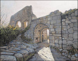 THE GATES OF THE MANGUP FORTRESS