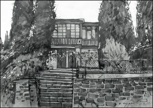 GOLUBEV'S HOUSE IN LAZURNOYE