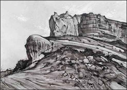 THE MOUNTAIN GRISAILLE OF BESH-KOSH