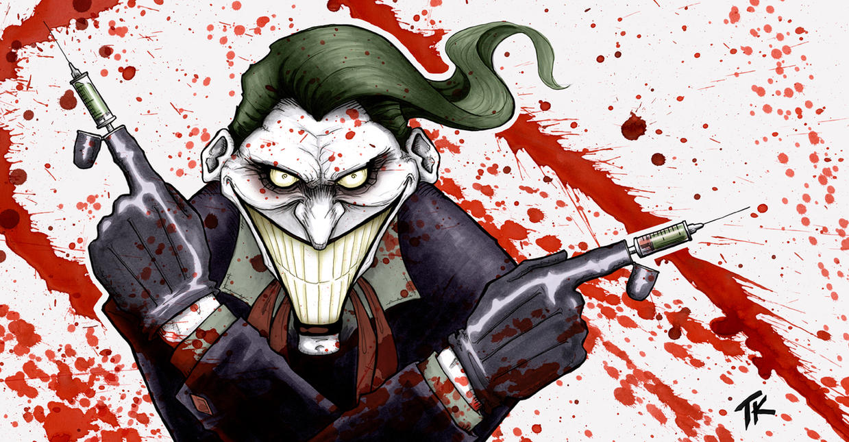 The Joker by Ripplen