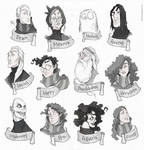 Faces - Harry Potter