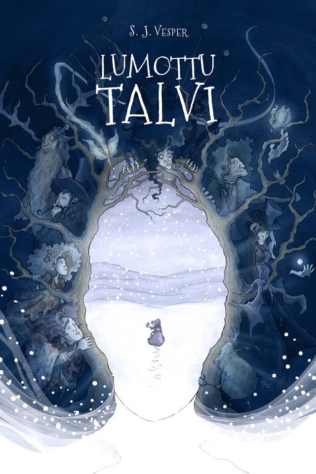 Fantasy novel illustration 1 by TeemuJuhani