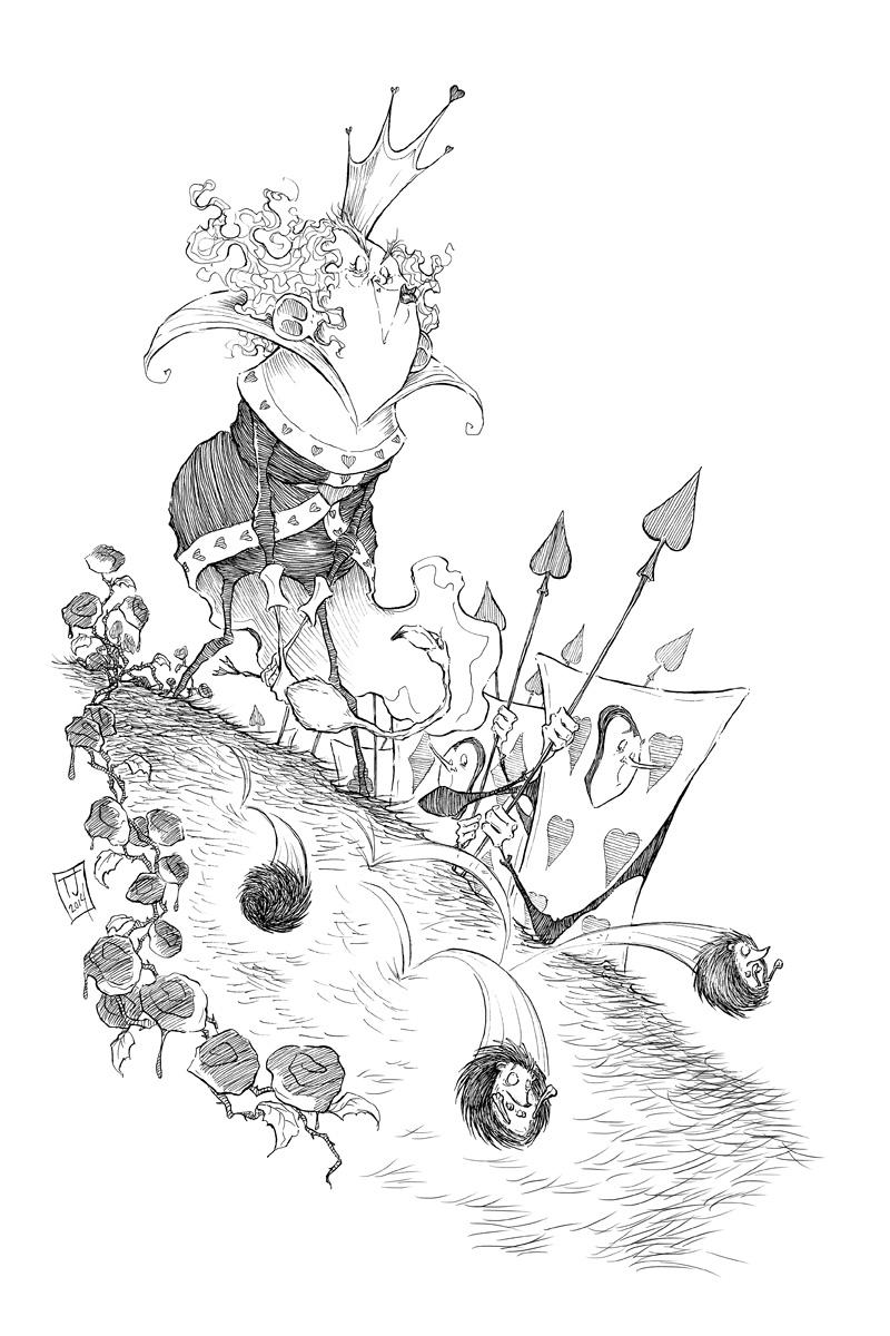 The Queen's Croquet-Ground by Ripplen