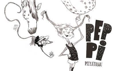 Pippi Longstocking by TeemuJuhani
