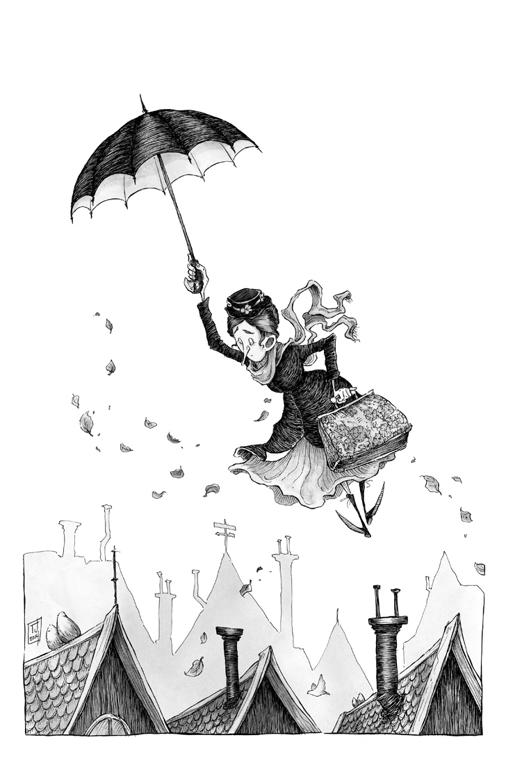 Mary Poppins by Ripplen