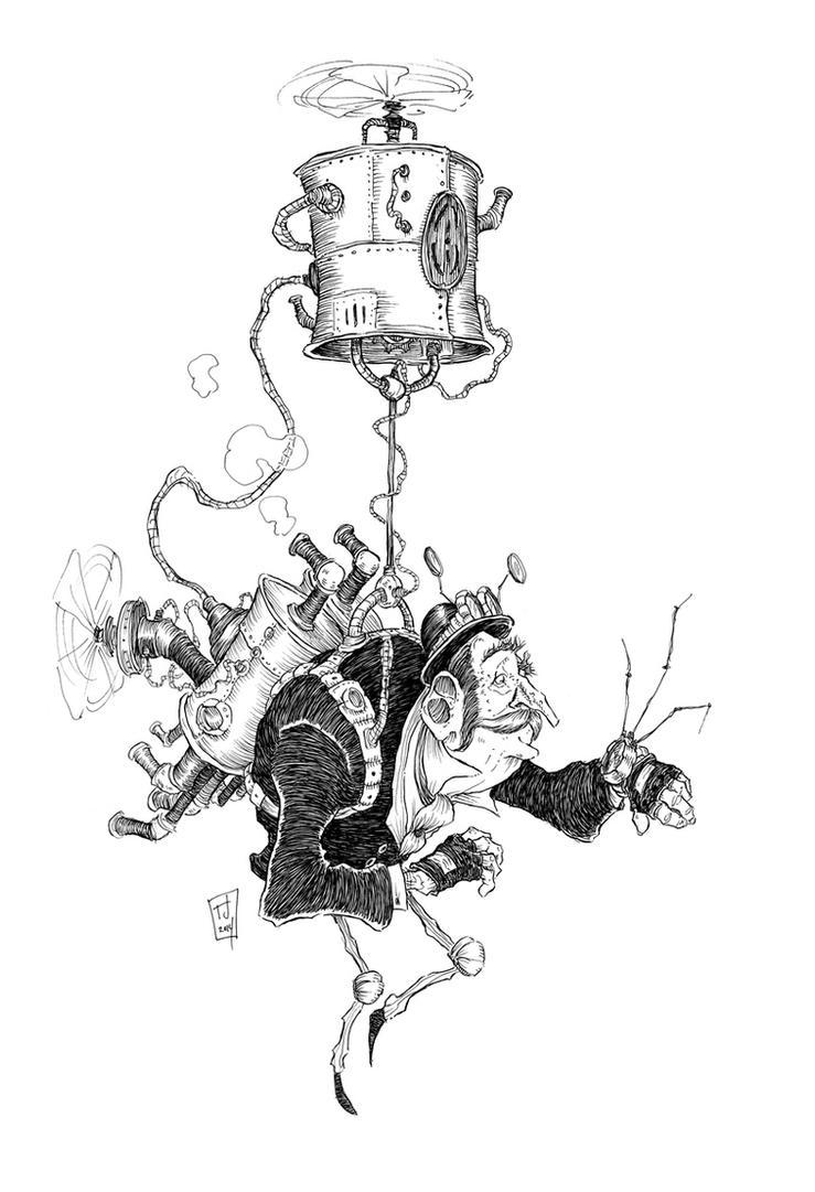 Steampunk Traveler (4) by Ripplen