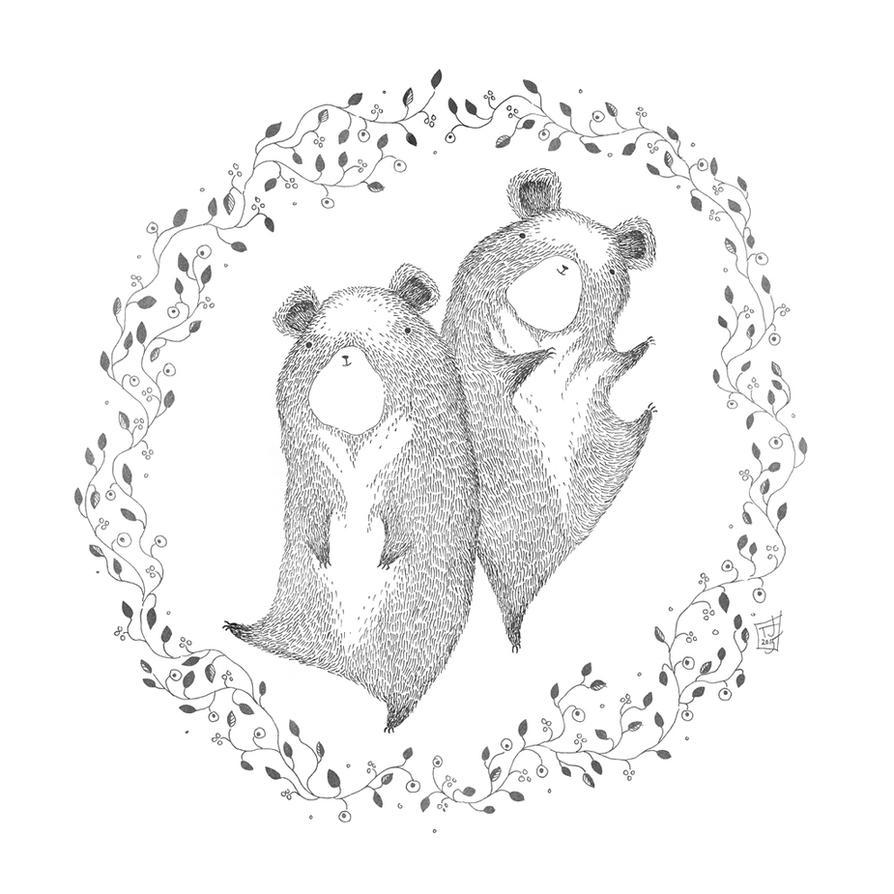 Berry Bear Dance by TeemuJuhani