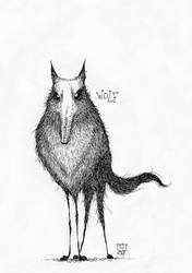 Wolf by TeemuJuhani