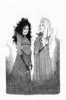 Black Sisters by TeemuJuhani