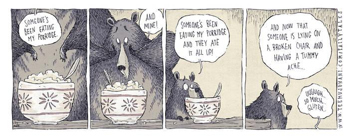 Faily Tales 4 - Goldilocks and the Three Bears by TeemuJuhani